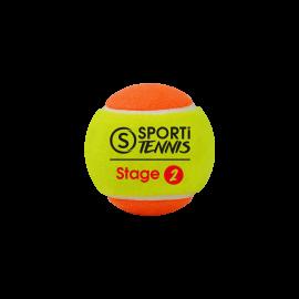 LOT DE BALLES DE TENNIS STAGE 2