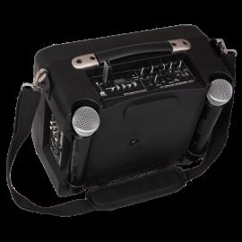 SONO PORTABLE RECHARGEABLE AVEC LECTEUR USB/MP3/SD, 2 MICROS UHF & BLUETOOTH
